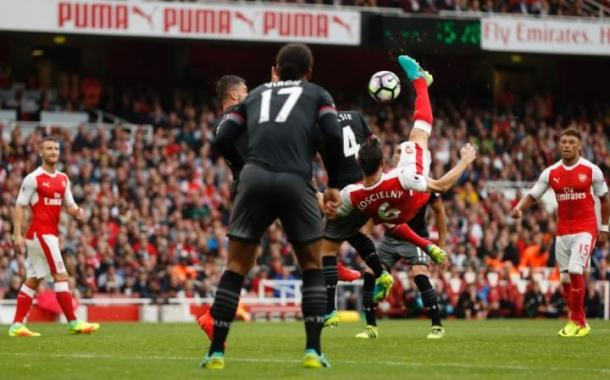Koscielny was on target over the weekend   Photo: Reuters