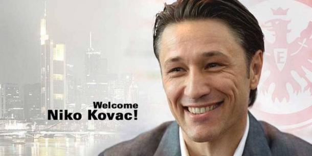 Kovac era presentado en el Eintracht de Frankfurt / FOTO: @eintracht