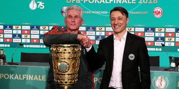 Jupp Heynckes y Niko Kovac previo a la Final de Copa de Alemania / FOTO: Getty images