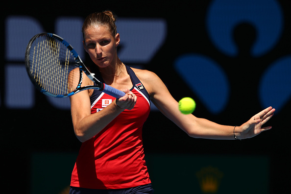 Pliskova was unable to reach her second Grand Slam semifinal (Photo by Clive Brunskill / Getty Images)