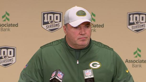 Mike McCarthy addresses the press after today's loss against the Cardinals | Source: packers.com