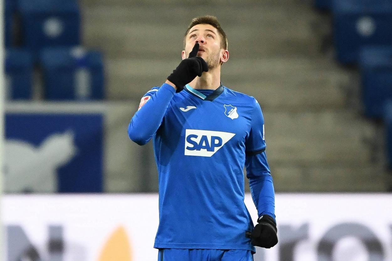 Kramaric, doblete y 12 goles ya en Bundesliga / FOTO: @tsghoffenheim
