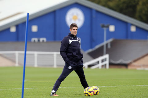 Kommt am torgefährigen Jamie Vardy nicht vorbei. (Quelle: Leicester City FC)