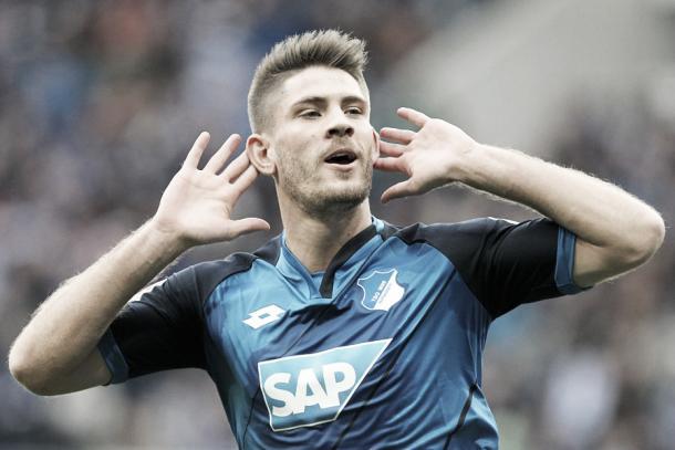 Andrej Kramarić é a principal esperança por gols no lado do Hoffenheim (Foto: Divulgação/Hoffenheim)