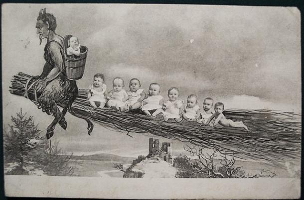 Ilustración de 1900. Wikipedia (PD).