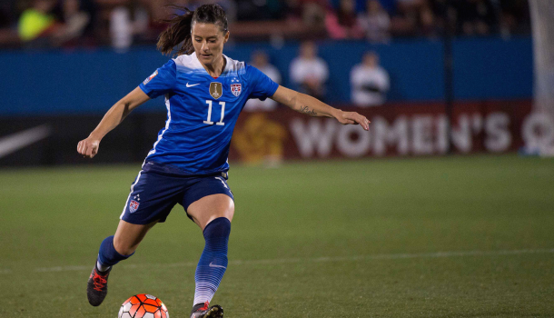 Ali Krieger | Photo: NBC Sports