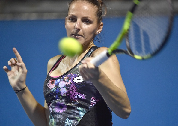 Kristyna Pliskova Advances To The Third Round. Photo: Paul Crock/Getty Images
