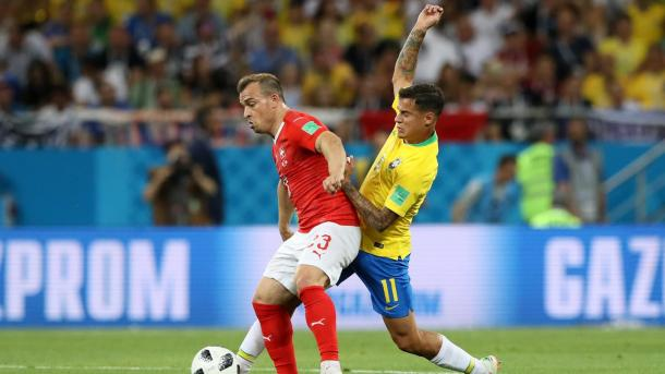 Xherdan Shaqiri and Philippe Coutinho were the best players on the field today | Source: Getty Images via FIFA.com