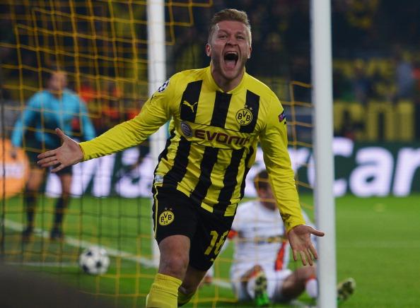 B?aszczykowski pelo Borussia Dortmund, em 2013. (Foto: Bongarts/Lars Baron)