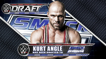 Kurt angle said he would be returning at the draft - but left a return open for the future (image: plus.google.com)