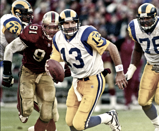 Kurt Warner con los Rams / Foto:NFL.com