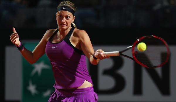 Petra Kvitova in action against Madison Keys (Matthew Lewis/Getty Images)