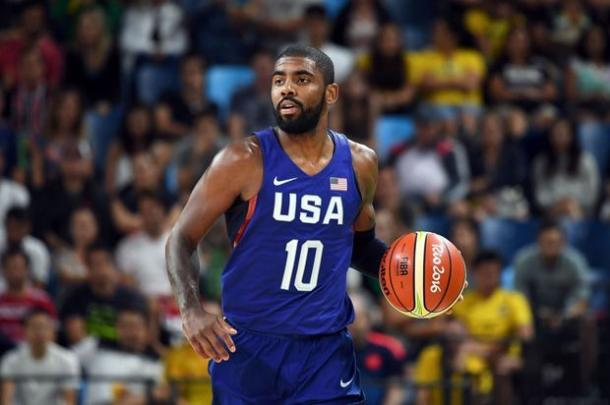 Kyrie Irving has yet to have a big game. Photo: Mark Ralston/AFP/Getty Images