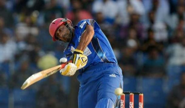 Stanikzai in action during his half-century versus Sri Lanka | Photo: Getty Images
