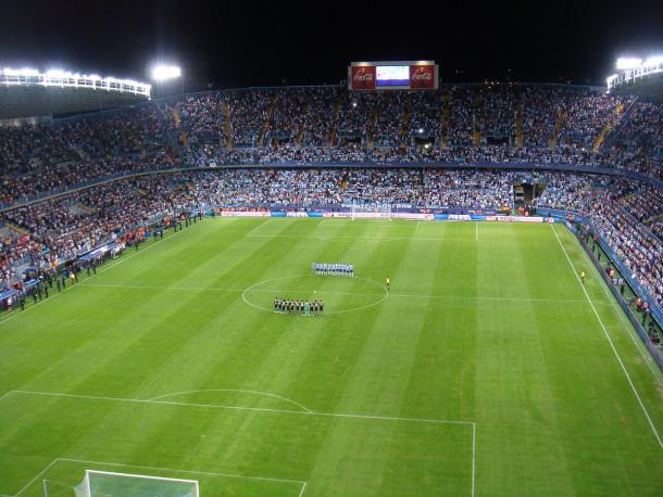 Estadio La Rosaleda/ FOTOGRAFÍA: Wikipedia