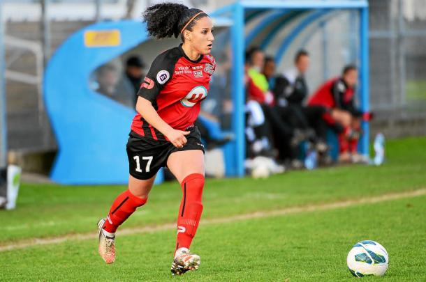 Salma Amani continues to spearhead Fleury's attack | Source: letelegramme.fr