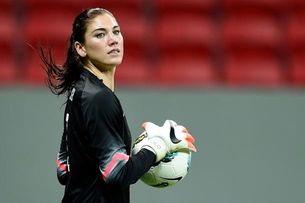 Hope Solo featuring for the USWNT in 2016 | Source: Buda Mendes-Getty Images