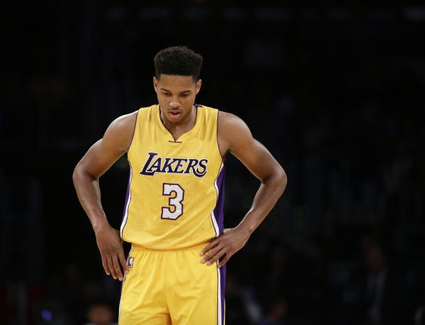 Anthony Brown's sharpshooting failed him and was ultimately cut by the Lakers. Photo: Jae C. Hong / Associated Press