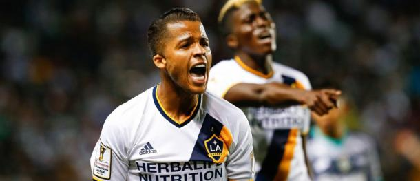 The LA Galaxy will be hoping that Giovani dos Santos goal scoring streak continues on Wednesday against the Philadelphia Union. Photo provided by MexSports.