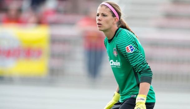 Stephanie Labbé is now essentially a free agent | Source: washingtonspirit.com