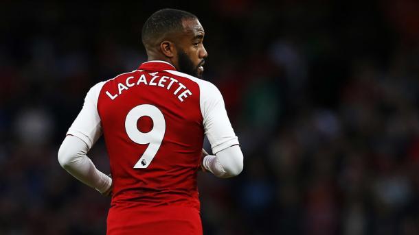 Lacazette quiere volver a la senda del gol. Foto: Arsenal