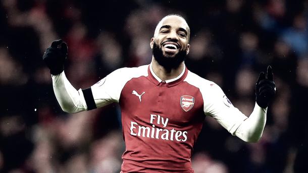 Lacazette se perfila como titular para este duelo | Foto: Arsenal