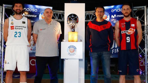 Presentación de la gran final de Liga Endesa 2018   Foto: ACB.com