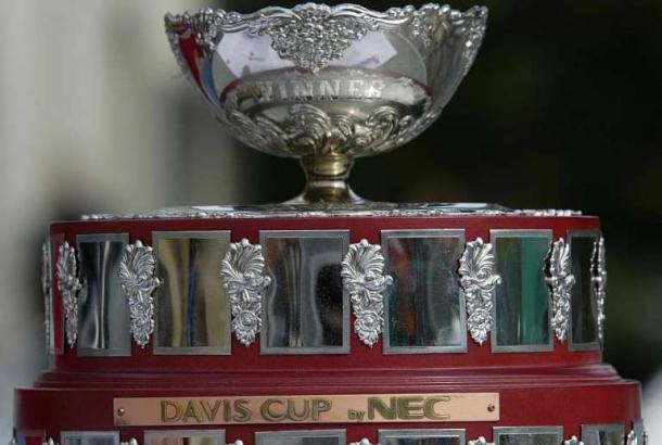 """Así es la cúspide de la """"Ensaladera de Plata"""", trofeo de la Copa Davis."""