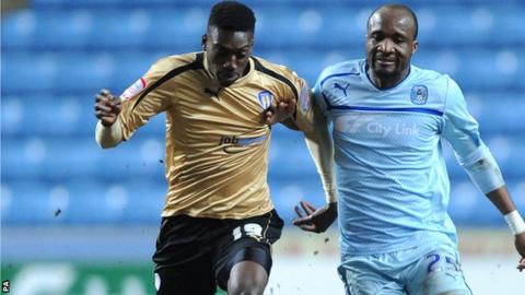 Ladapo (Left) has enjoyed a successful spell in non-league | Photo: Press association