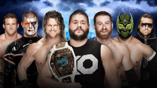 Who will climb the ladder to glory? Photo- WWE.com