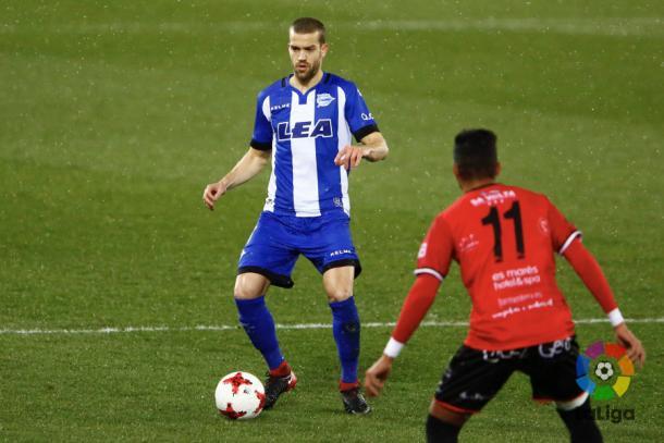 Laguardia volvía a jugar ocho meses después  |  Fotografía: LFP
