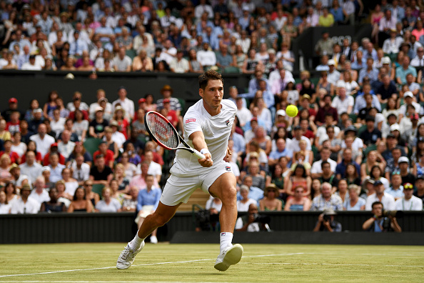 The Serb was unable to build on his high level of tennis from the first set (Photo by Shaun Botterill / Getty)