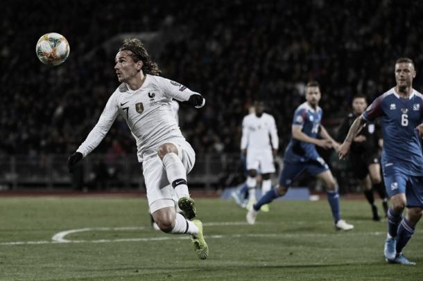Foto: Reprodução / Seleção Francesa de Futebol