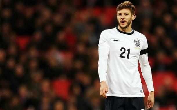 Lallana edged out Sterling by 1% (photo; Getty Images)