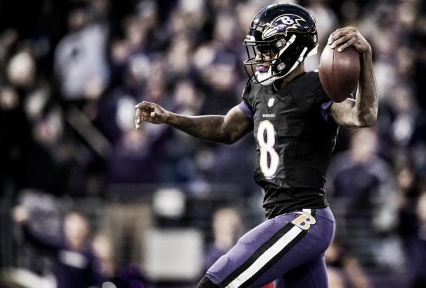 Lamar Jackson. Foto: Reprodução/Baltimore Ravens