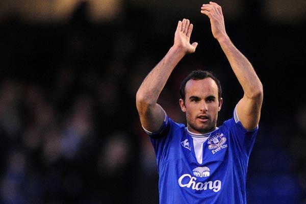 Donocan con el Everton FC (Imagen: ussoccerplayers.com)