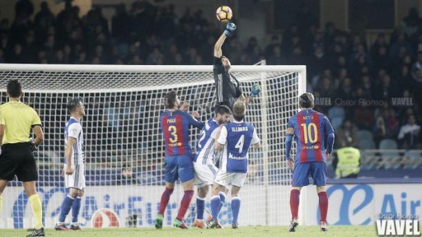 A la Real se le suele dar bien el Barça en casa | Oscar Alonso -VAVEL