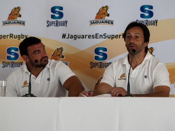 Agustin Creevy and Raul Perez will be leading the Jaguares in their maiden Super Rugby campaign (image via: rugby365)