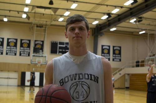 Will Hanley, durante un entrenamiento con Bowdain College (Maine, NCAA DIII)   Fuente: Alex Pigott,
