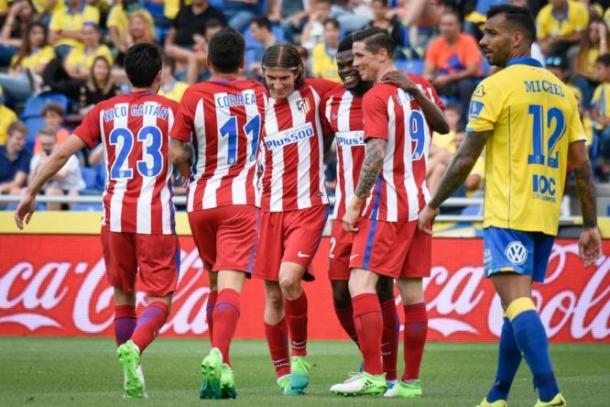 Tutto facile per l'Atletico Madrid che surclassa il Las Palmas 5-0 fuori casa