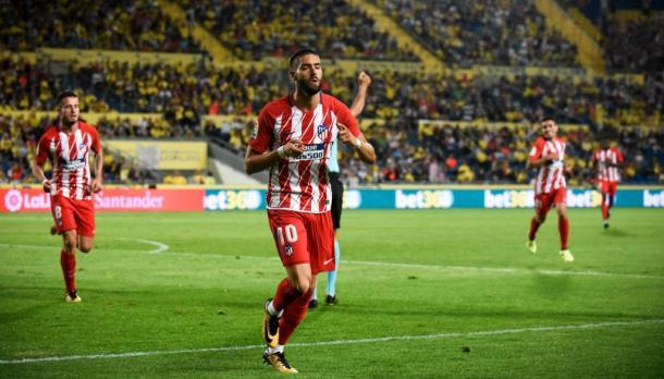 Prima vittoria in campionato per l'Atletico Madrid. battuto 1-5 il Las Palmas (Fonte foto: Fox Sports)