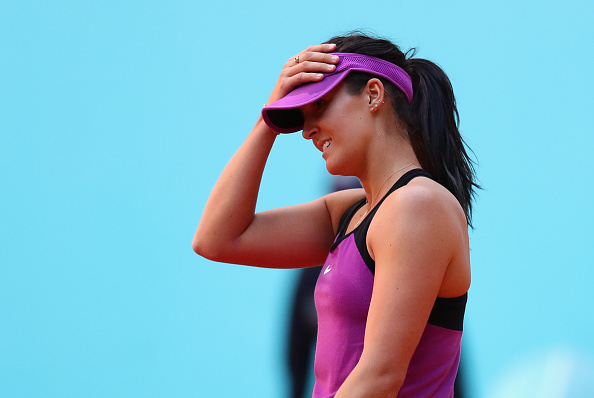 Laura Robson failed to make the most of her chances. Photo: Julian Finney/Getty Images
