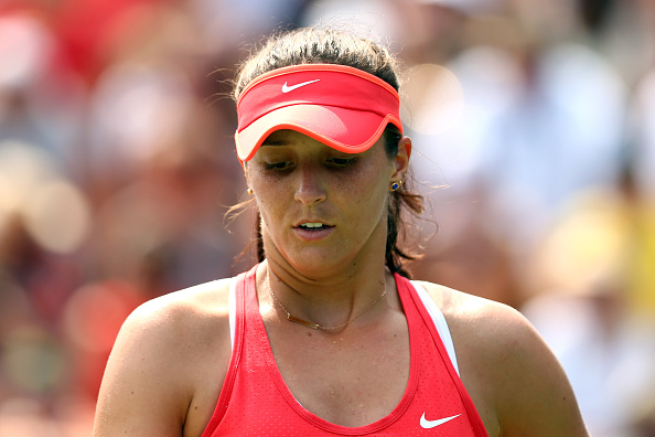 Laura Robson Showed Glimpses Of Her Pre Injury Form, But It Was Not Enough. Photo: Clive Brunskill/Getty Images