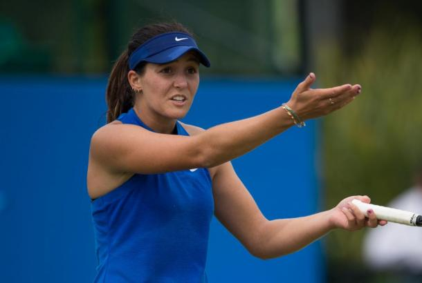 Robson lost in the first round of Nottingham and the second qualifying round of Birmingham. She hopes to receive a wild card into Wimbledon/Photo Source: Jon Buckle/Getty Images