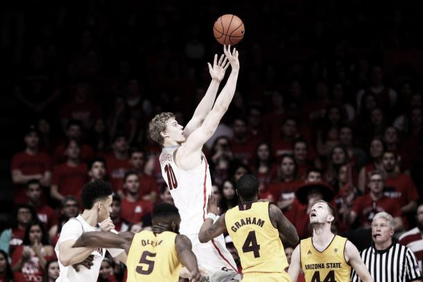 Markkanen showcases his impressive length on offense- Getty Images