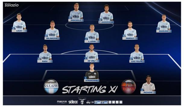 Lazio official Facebook