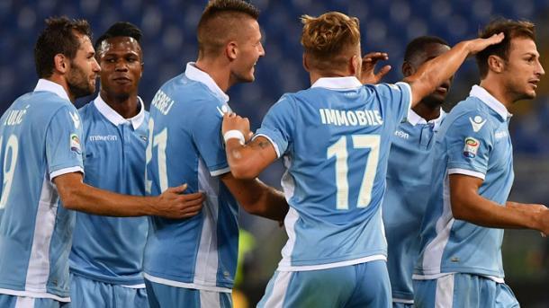 La festa della Lazio. Fonte foto: Getty Images.