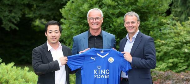 Imagen de la presentación de Claudio Ranieri | Foto: King Power