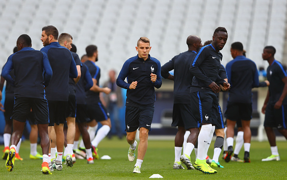 Digne was included in Deschamps' France squad for this summer's Euros - but didn't feature throughout. | Photo: Getty