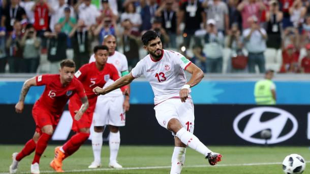Ferjani Sassi gave Tunisia hope in the first half | Source: Getty Images via FIFA.com
